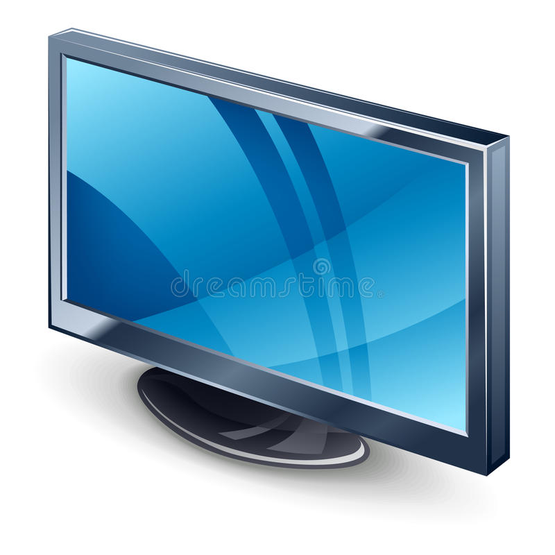 Download Display TV stock vector. Image of technology, vector - 22763412
