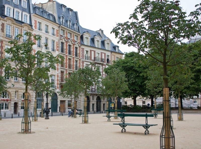 Disponga Dauphine, Parigi immagini stock libere da diritti