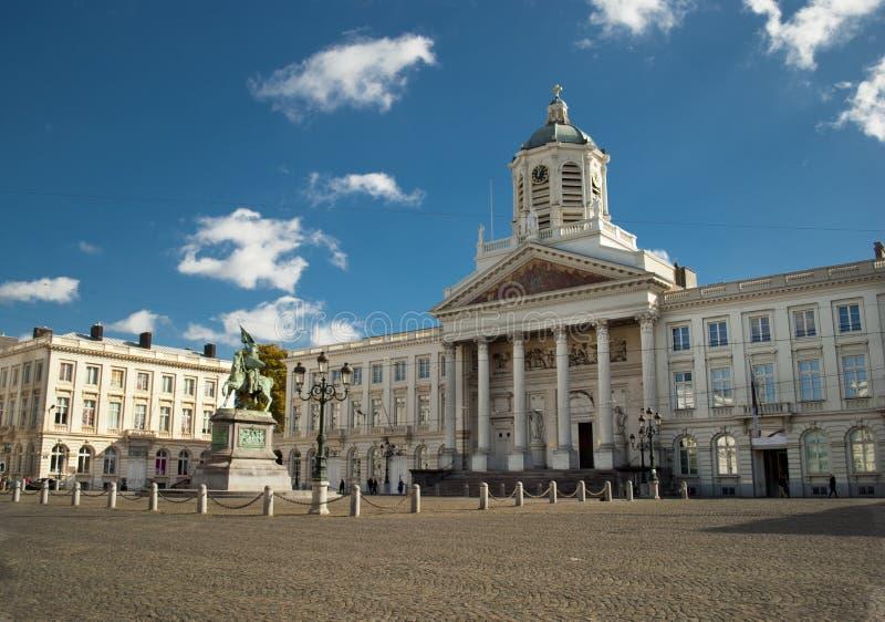 Disponga Royale a Bruxelles fotografia stock libera da diritti