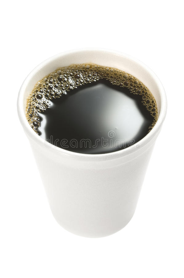 Download Disposable coffee cup. stock photo. Image of black, full - 22854138