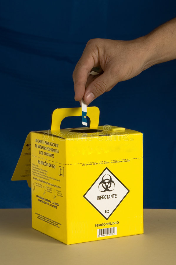 Download Disposal box stock photo. Image of danger, hospital, ideas - 2252112