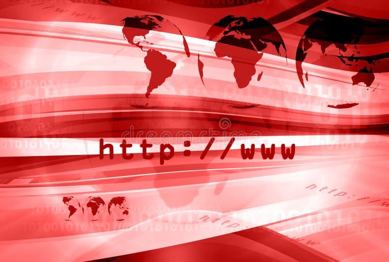 Disposição 008 do HTTP ilustração do vetor
