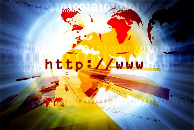 Disposição 038 do HTTP ilustração royalty free