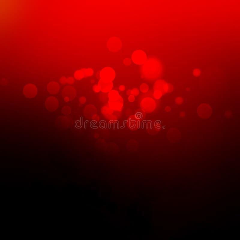 Disposição de projeto vermelha abstrata do Natal dos Valentim do fundo, vermelha ilustração do vetor