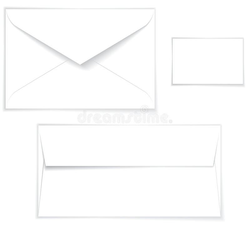 Disposição do envelope ilustração do vetor