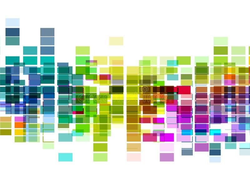 Disposição multicolor do mosaico do vetor, eps 10 ilustração do vetor