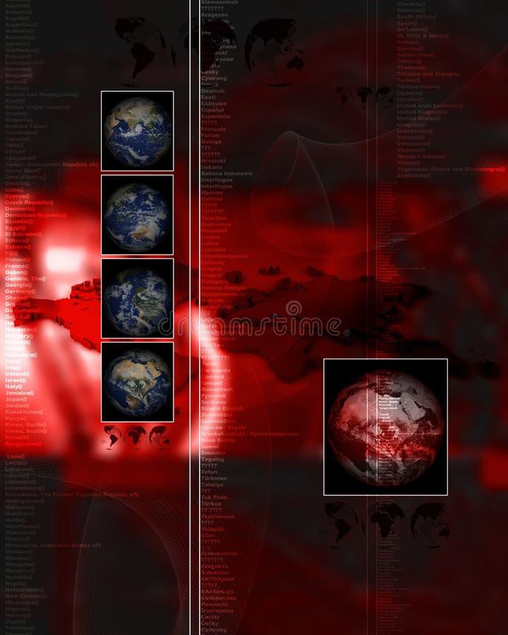 Disposición 034 del HTTP ilustración del vector