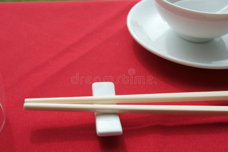 Disposición china del vector del restaurante fotografía de archivo