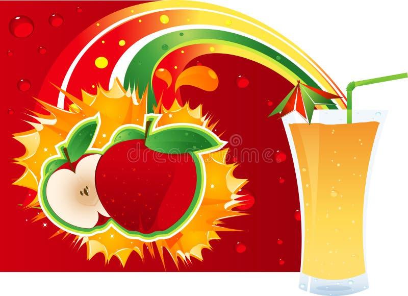 Disposición de Apple ilustración del vector