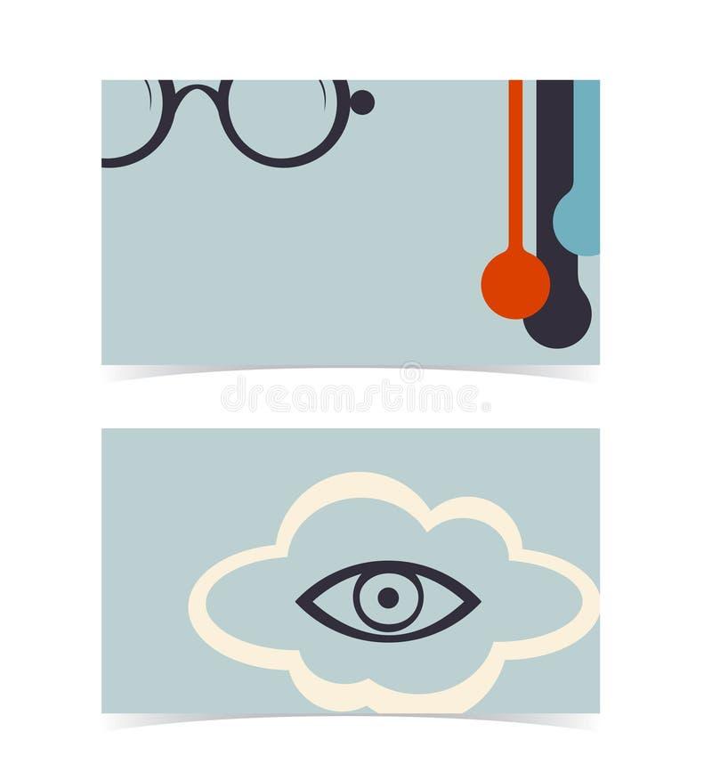 Disposición de la tarjeta de visita. Plantilla Editable del diseño ilustración del vector