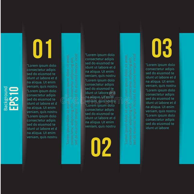 Disposición infographic de la plantilla del estilo del diseño moderno stock de ilustración