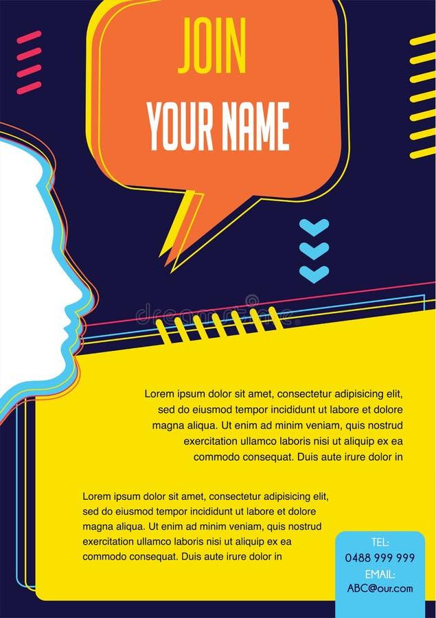 Disposición infographic del vector del concepto del negocio para la presentación, el folleto, el sitio web y el otro proyecto de  libre illustration