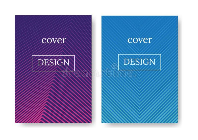 Disposición para la cubierta de la revista o de libro libre illustration