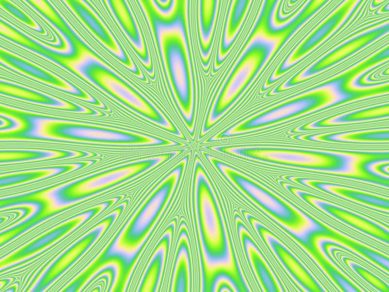 Dispositif d'éblouissement vert illustration libre de droits