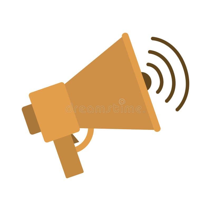 Dispositif d'audio de haut-parleur illustration stock