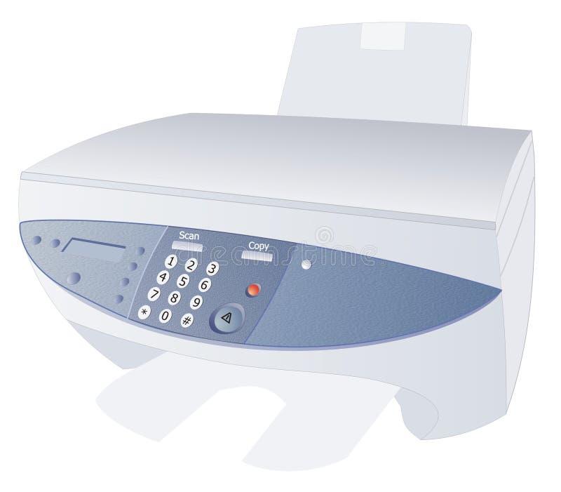 Dispositif d'ordinateur illustration de vecteur
