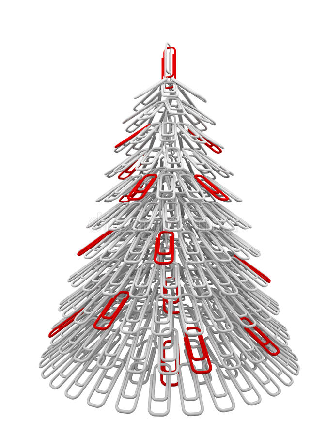 Dispositif de fixation d'arbre de Noël illustration stock