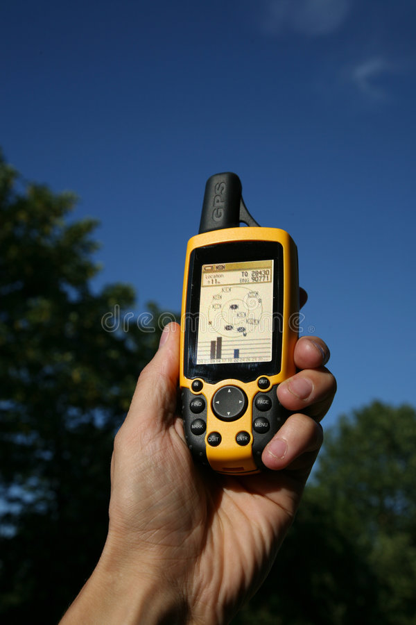 Dispositif de GPS images libres de droits