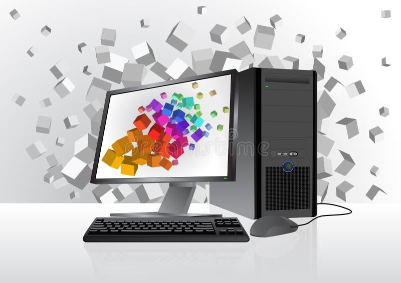 Dispositif de technologie illustration de vecteur