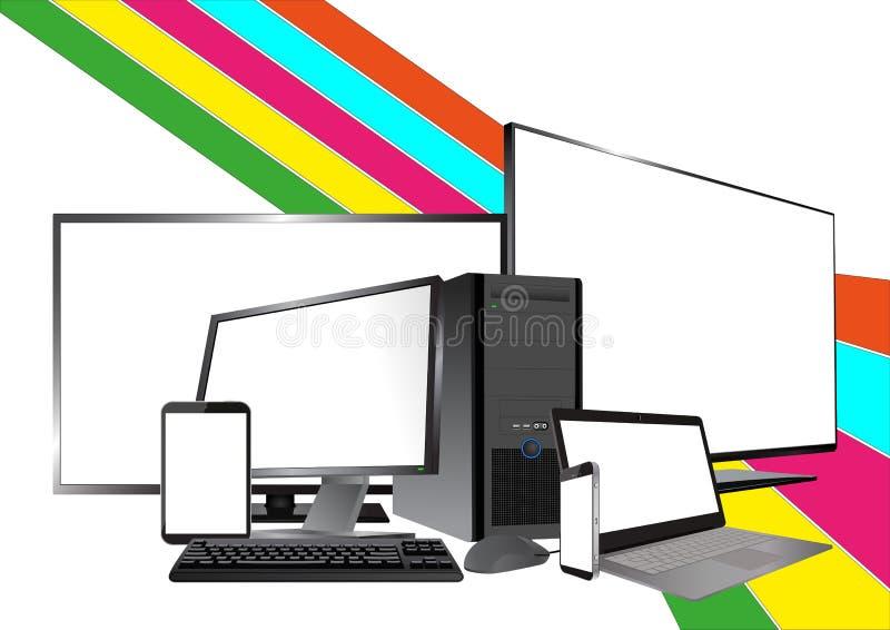 Dispositif de technologie illustration libre de droits