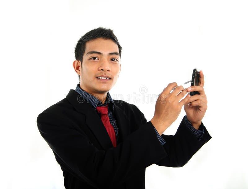 Dispositif mobile photos libres de droits