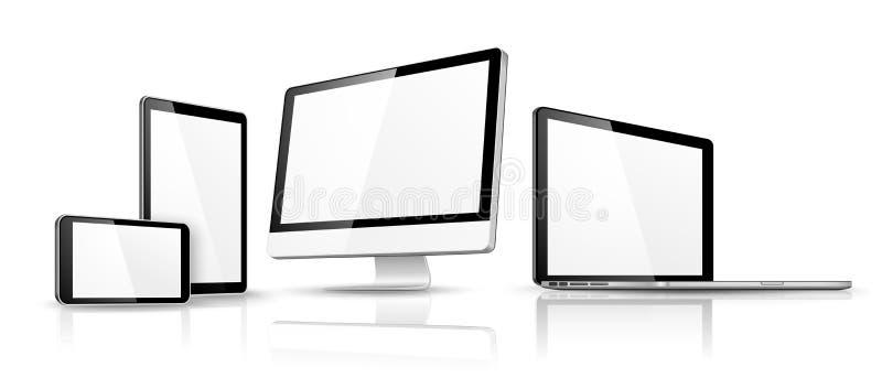 Dispositif moderne Vecteur illustration stock