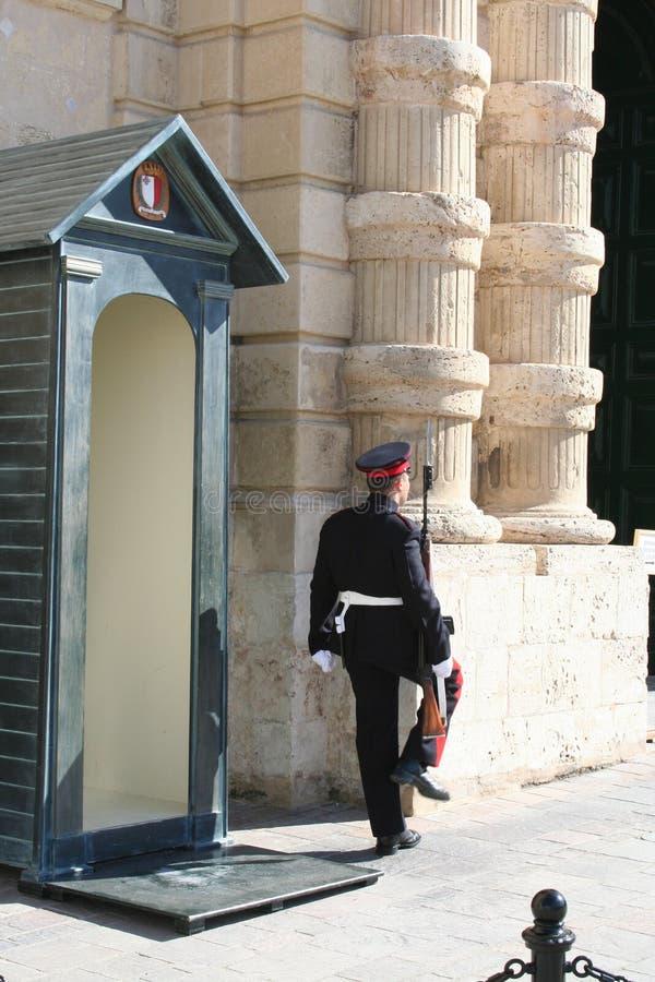 Dispositif protecteur de palais, La Valette, Malte photos libres de droits