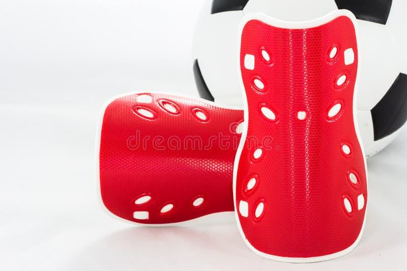 Dispositif utilisé pour empêcher l'athlète accidentel dans le football concurrentiel photos stock