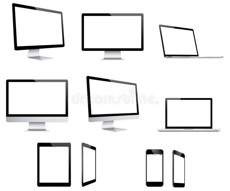 Dispositifs d'Electonic illustration stock