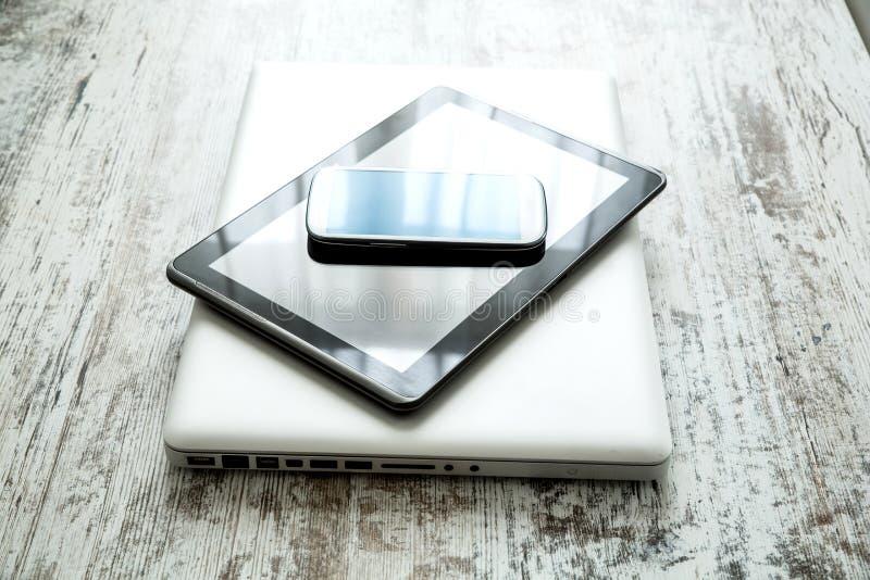 Dispositifs de Digitals photo libre de droits