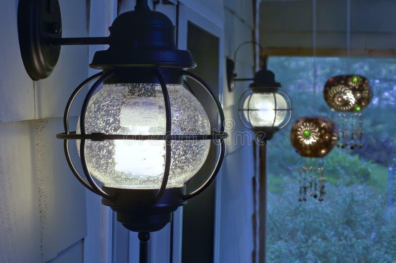 Dispositifs extérieurs de CFL image stock