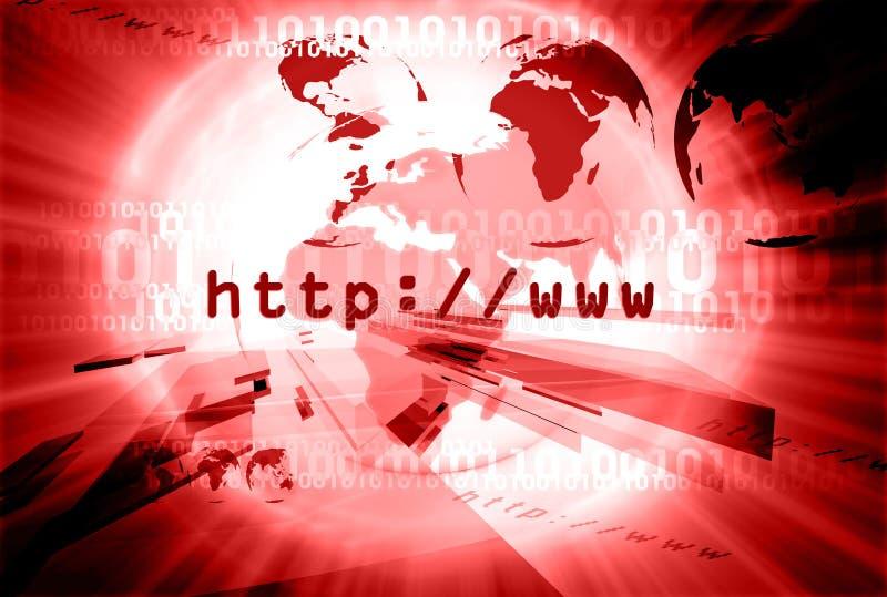 Disposition 006 de HTTP illustration libre de droits
