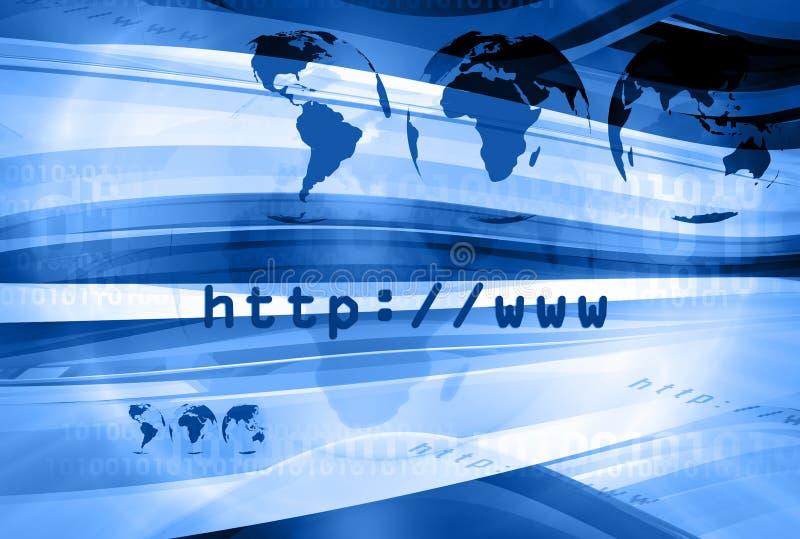 Disposition 007 de HTTP illustration libre de droits