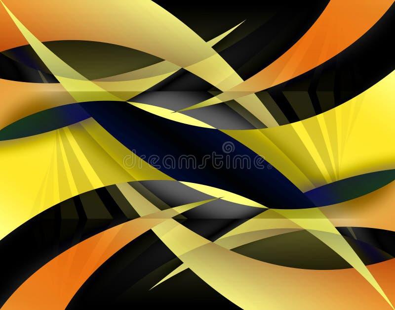 Disposition abstraite de Swoosh illustration libre de droits