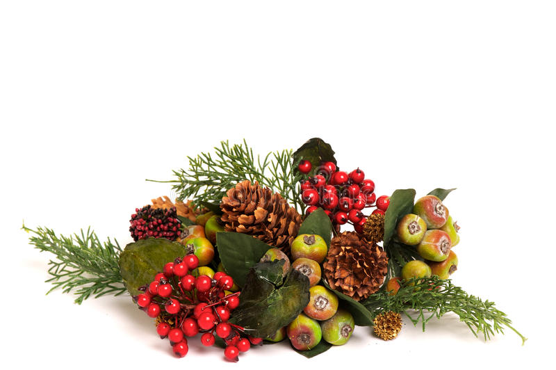 Disposition colorée de Noël photographie stock