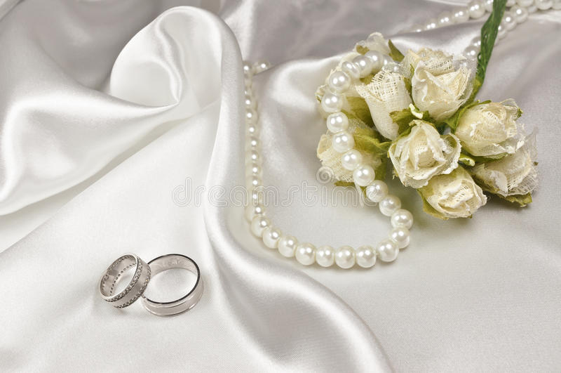 Disposition de mariage images stock