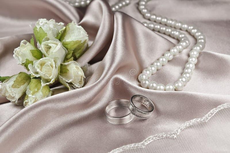 Disposition de mariage image stock
