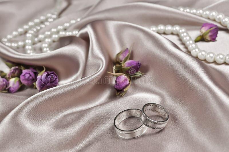 Disposition de mariage photographie stock libre de droits