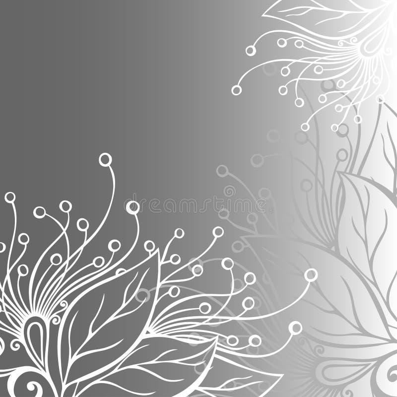 Disposition florale colorée par vecteur. illustration stock