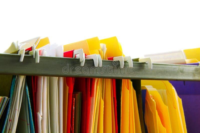 Dispositivi di piegatura su bianco immagine stock