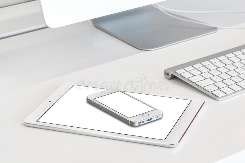 Dispositivi rispondenti fotografia stock libera da diritti