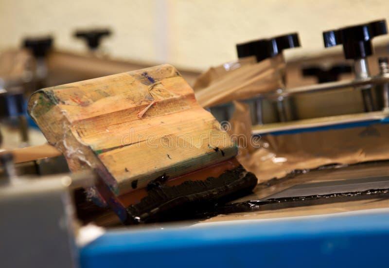 Dispositivo de impresión de la pantalla imagen de archivo libre de regalías
