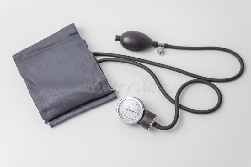 Dispositivo de medição da pressão sanguínea e do pulso imagem de stock