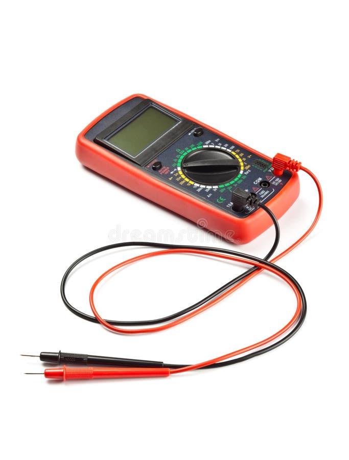 Dispositivo de medição eletrônico fotografia de stock