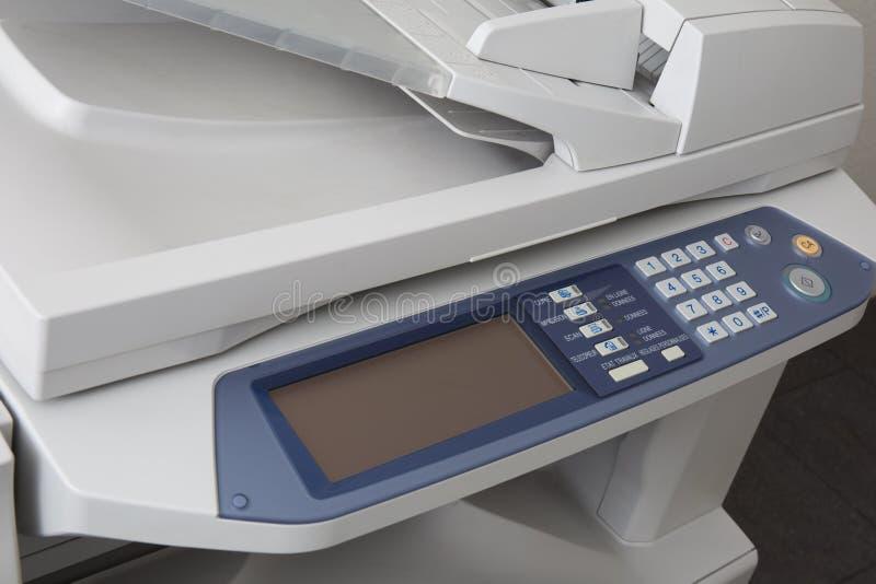 Dispositivo de trabalho da copiadora do varredor de impressora imagens de stock royalty free