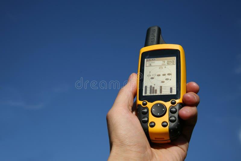 Dispositivo del GPS fotos de archivo libres de regalías