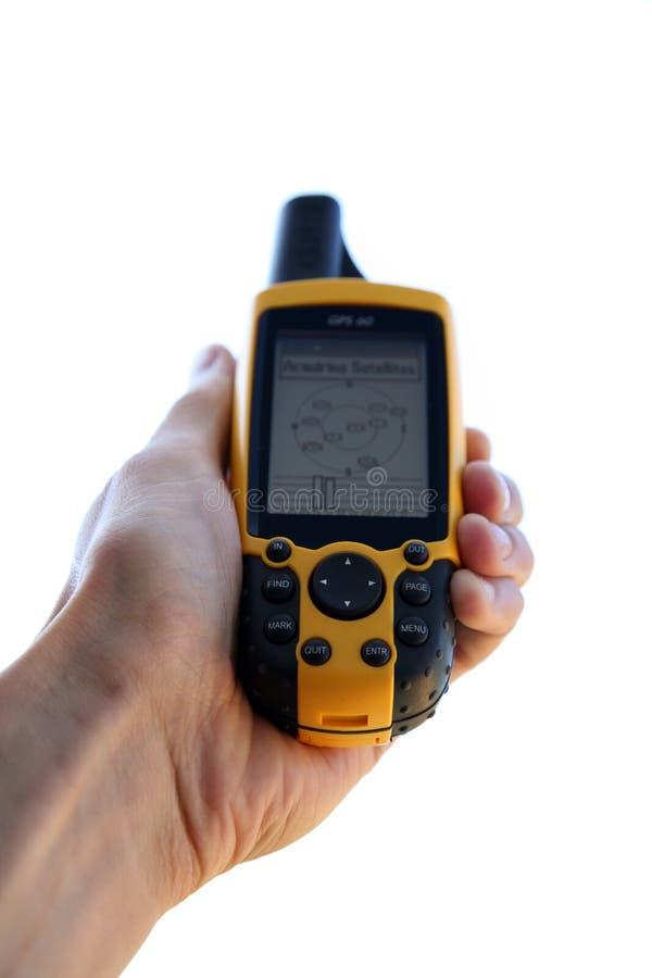 Dispositivo del GPS imagen de archivo