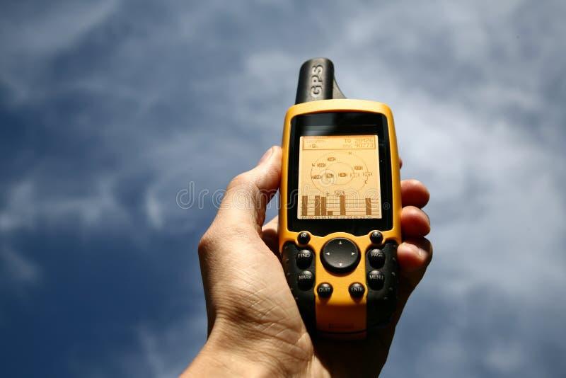 Dispositivo del GPS fotos de archivo