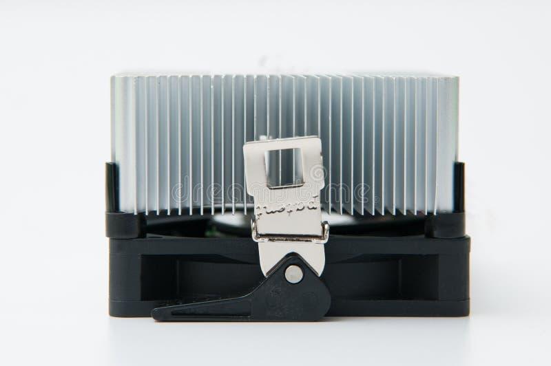Dispositivo di raffreddamento dell'unità di elaborazione fotografia stock libera da diritti