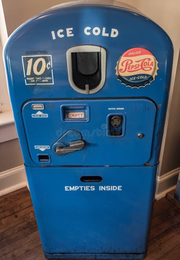 Dispositivo di raffreddamento di Pepsi immagini stock libere da diritti